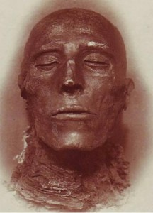 Sethos Kopf der Mumie