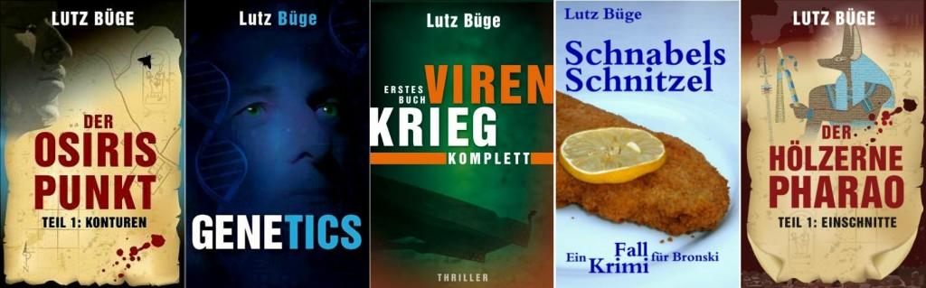 Übersicht Cover Romane 2014