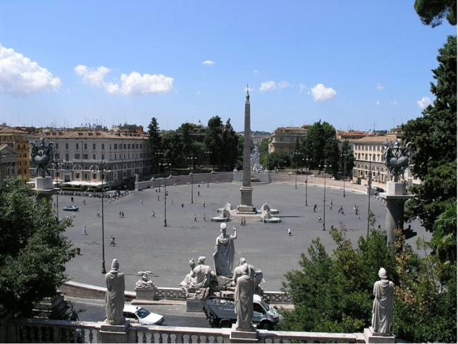 Piazza del Popolo klein