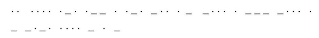 261 Morsecode