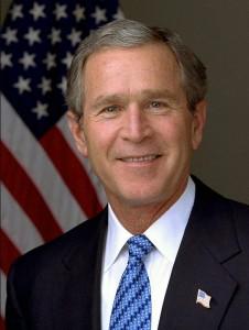 Bush Porträt