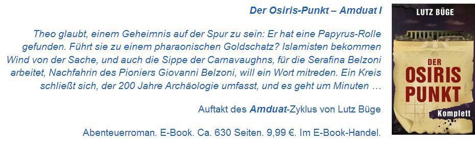 Anzeige Amduat I Osiris