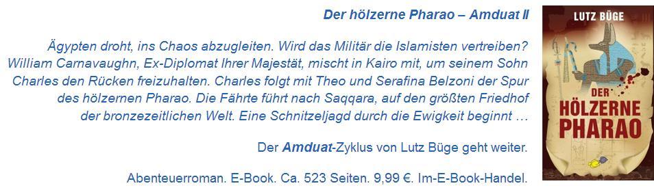 Anzeige Amduat II Hölzerner